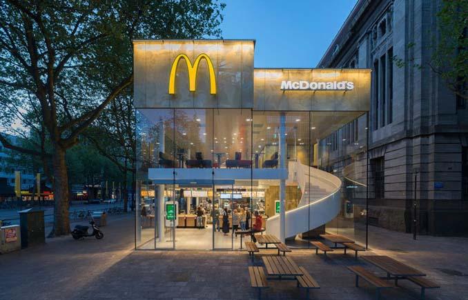 Το πιο ξεχωριστό κατάστημα McDonald's βρίσκεται στο Ρότερνταμ (1)
