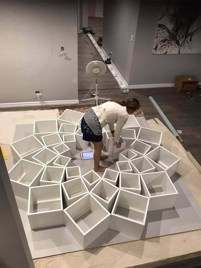 Ζευγάρι έφτιαξε μια DIY βιβλιοθήκη που είδε στο Internet και το αποτέλεσμα είναι εκπληκτικό (4)