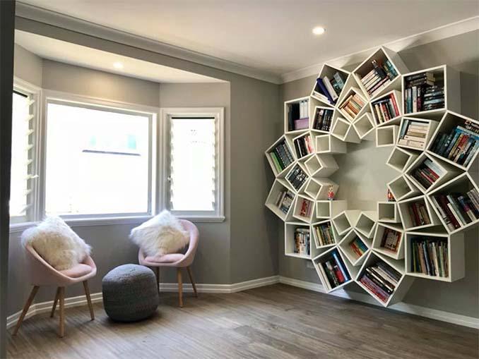 Ζευγάρι έφτιαξε μια DIY βιβλιοθήκη που είδε στο Internet και το αποτέλεσμα είναι εκπληκτικό (7)