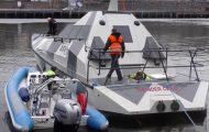 Δοκιμή ανατροπής σε ένα αβύθιστο σκάφος