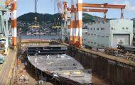 Η εντυπωσιακή διαδικασία κατασκευής ενός κρουαζιερόπλοιου σε 8 λεπτά
