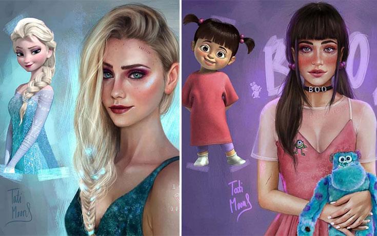 19χρονη καλλιτέχνιδα φαντάζεται γνωστούς χαρακτήρες καρτούν σε πιο ρεαλιστικό στυλ (19)