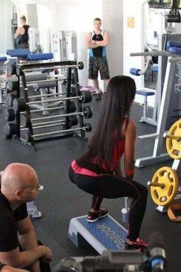 Περίεργες καταστάσεις και ευτράπελα στο γυμναστήριο (1)