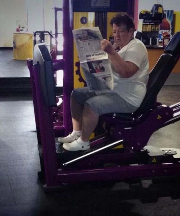 Περίεργες καταστάσεις και ευτράπελα στο γυμναστήριο (2)