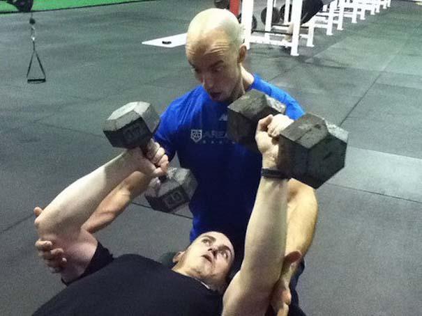 Περίεργες καταστάσεις και ευτράπελα στο γυμναστήριο (4)