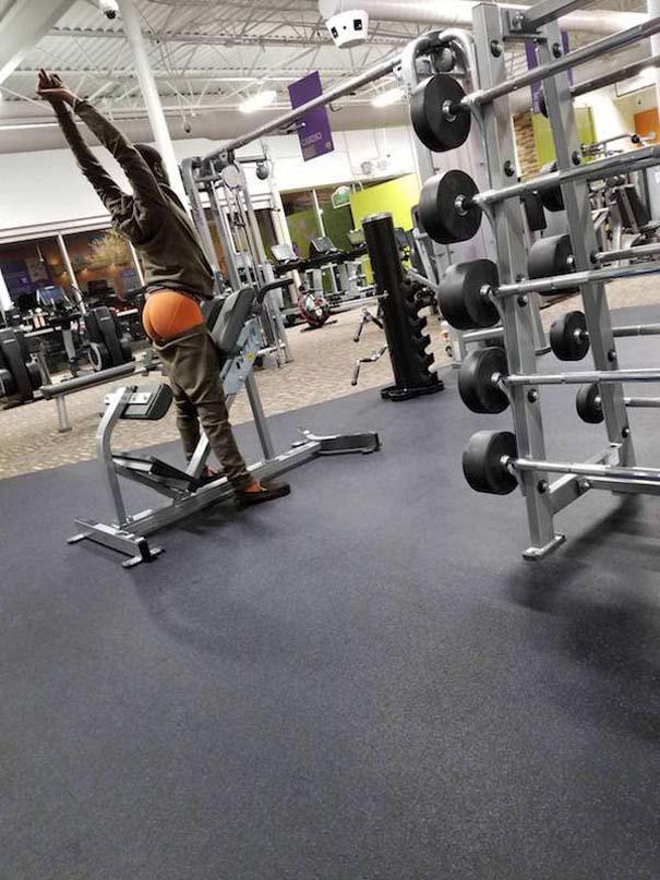 Περίεργες καταστάσεις και ευτράπελα στο γυμναστήριο (8)