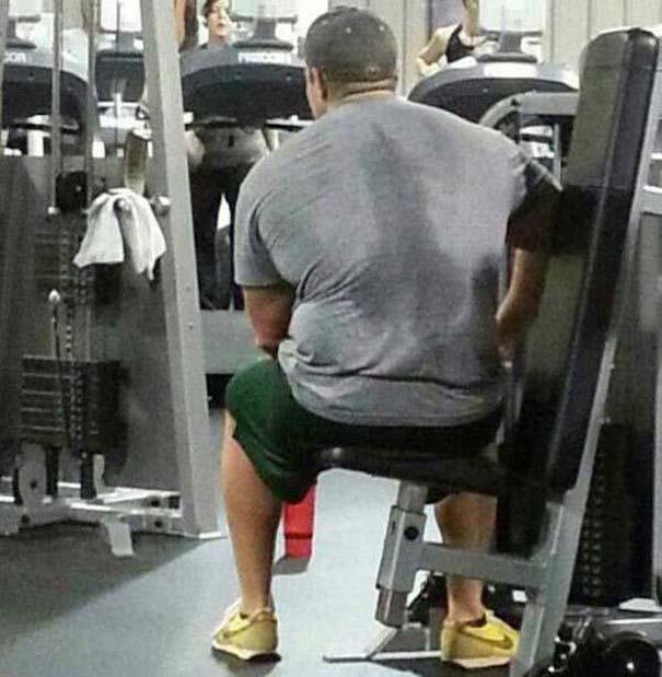 Περίεργες καταστάσεις και ευτράπελα στο γυμναστήριο (13)