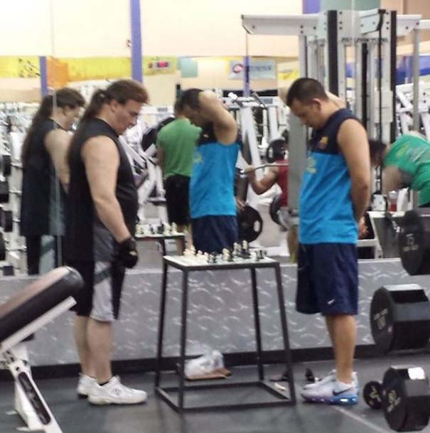 Περίεργες καταστάσεις και ευτράπελα στο γυμναστήριο (17)