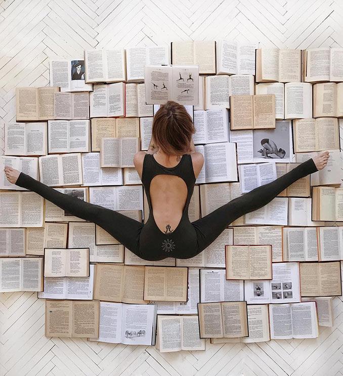 Η πιο βολική στάση για διάβασμα | Φωτογραφία της ημέρας