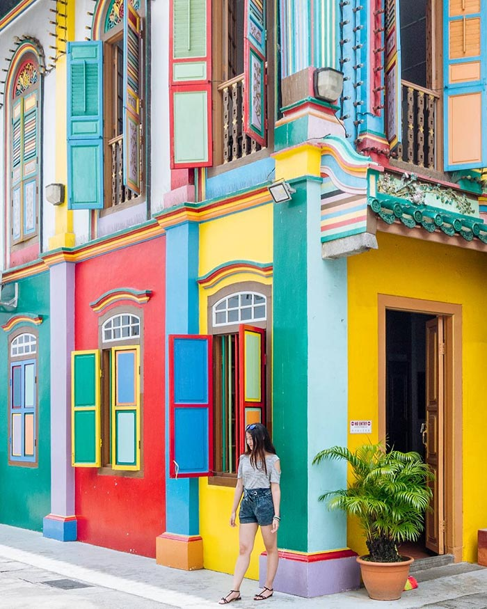 Η πιο πολύχρωμη γωνία της Σιγκαπούρης   Φωτογραφία της ημέρας