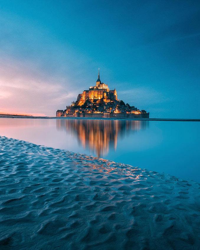 Το μαγευτικό Mont Saint Michael | Φωτογραφία της ημέρας