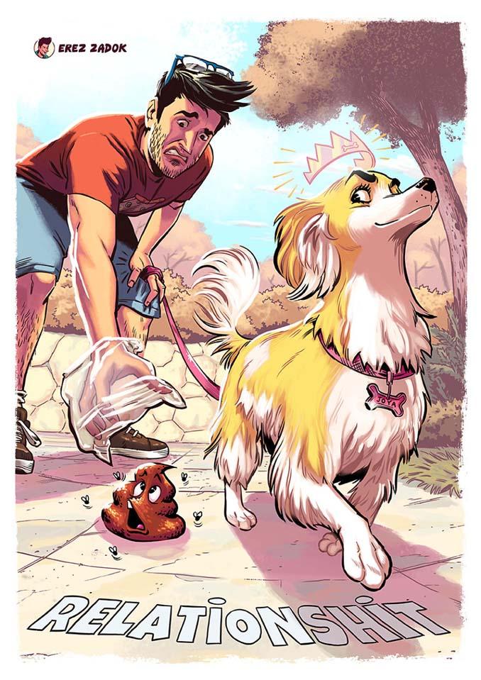 Σκίτσα με καταστάσεις που κάθε ιδιοκτήτης σκύλου θα καταλάβει (1)