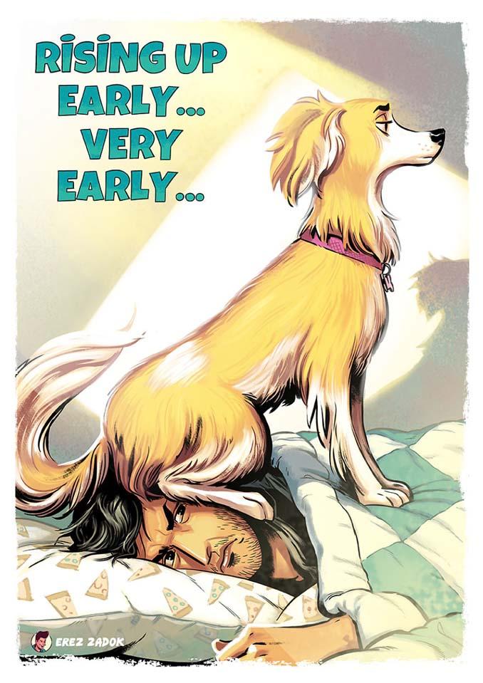 Σκίτσα με καταστάσεις που κάθε ιδιοκτήτης σκύλου θα καταλάβει (14)