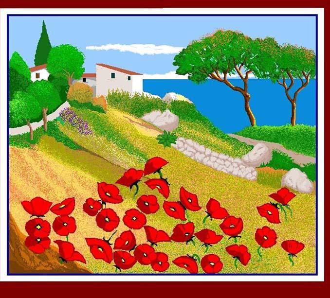 87χρονη γιαγιά δημιουργεί απίστευτα έργα τέχνης στο Paint (1)