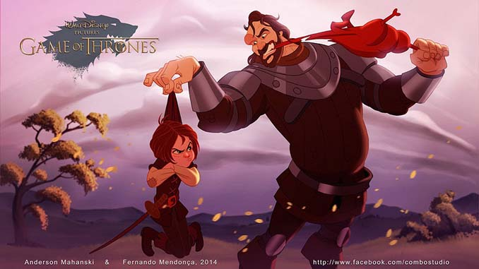 Αν το Game of Thrones ήταν δημιουργία της Disney (8)