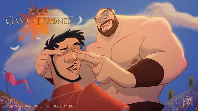 Αν το Game of Thrones ήταν δημιουργία της Disney (9)
