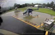 Απίστευτο ατύχημα μεταξύ δύο ελικοπτέρων της αστυνομίας