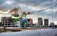 Αρχιτέκτονας σκιτσογραφεί την κρυφή ζωή των γιγάντων στους δρόμους της πόλης του (1)
