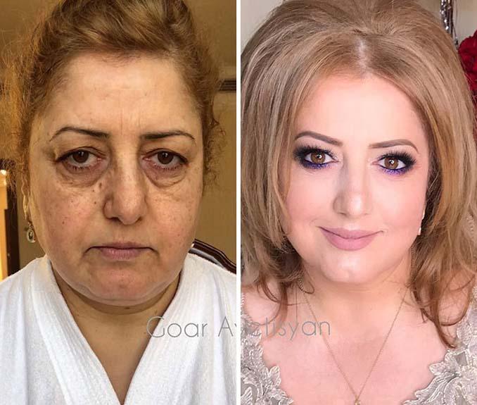 Γυναίκες πριν και μετά την μεταμόρφωση με μακιγιάζ που μοιάζουν άλλος άνθρωπος (11)