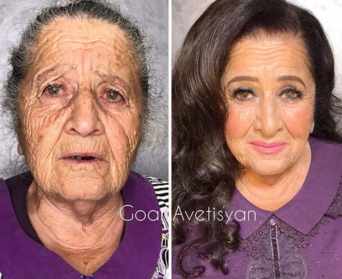 Γυναίκες πριν και μετά την μεταμόρφωση με μακιγιάζ που μοιάζουν άλλος άνθρωπος (15)