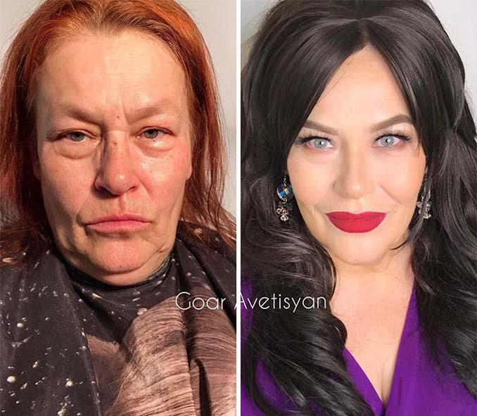 Γυναίκες πριν και μετά την μεταμόρφωση με μακιγιάζ που μοιάζουν άλλος άνθρωπος (17)