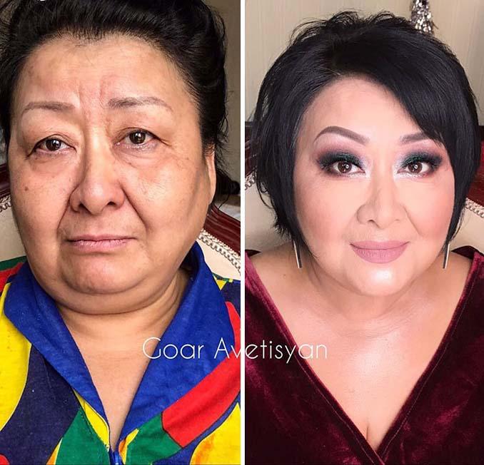 Γυναίκες πριν και μετά την μεταμόρφωση με μακιγιάζ που μοιάζουν άλλος άνθρωπος (19)