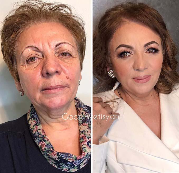Γυναίκες πριν και μετά την μεταμόρφωση με μακιγιάζ που μοιάζουν άλλος άνθρωπος (22)