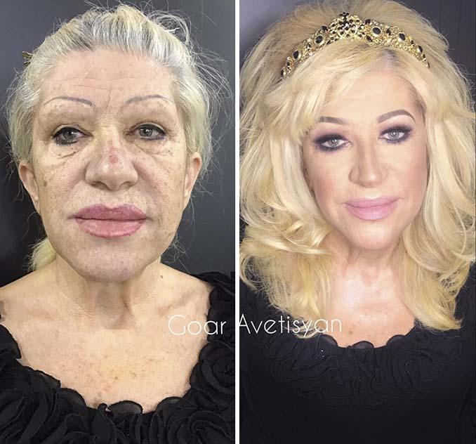 Γυναίκες πριν και μετά την μεταμόρφωση με μακιγιάζ που μοιάζουν άλλος άνθρωπος (23)