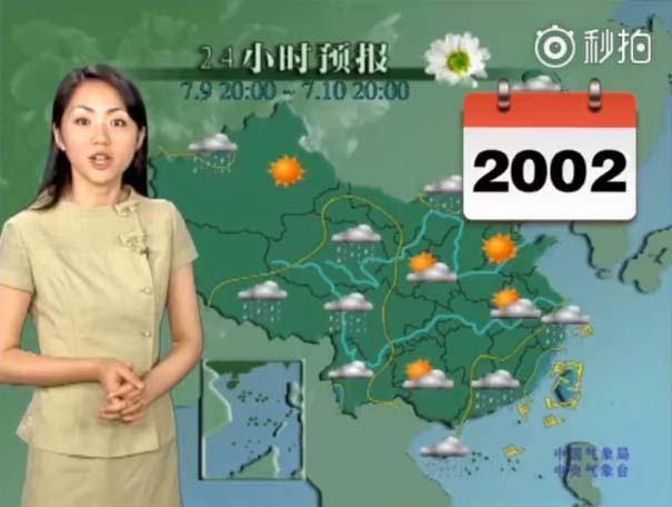 Παρουσιάστρια του καιρού από την Κίνα δεν έχει γεράσει καθόλου τα τελευταία 22 χρόνια (7)