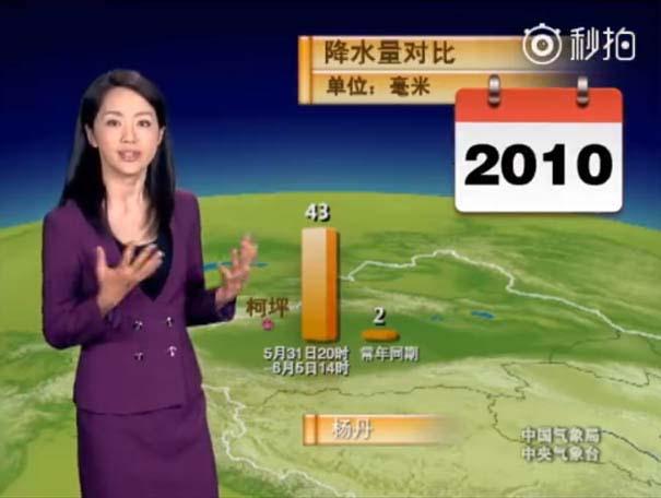 Παρουσιάστρια του καιρού από την Κίνα δεν έχει γεράσει καθόλου τα τελευταία 22 χρόνια (12)