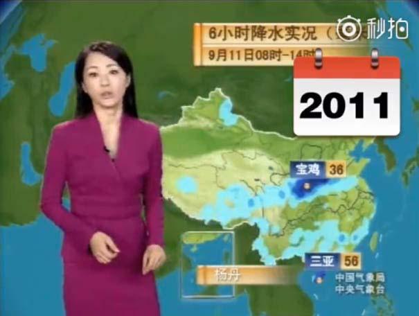 Παρουσιάστρια του καιρού από την Κίνα δεν έχει γεράσει καθόλου τα τελευταία 22 χρόνια (13)