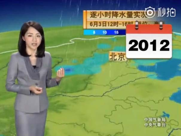 Παρουσιάστρια του καιρού από την Κίνα δεν έχει γεράσει καθόλου τα τελευταία 22 χρόνια (14)