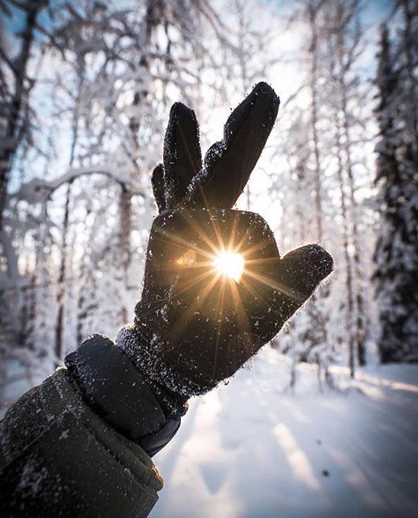 Πιάνοντας το φως του ήλιου στην Αλάσκα | Φωτογραφία της ημέρας