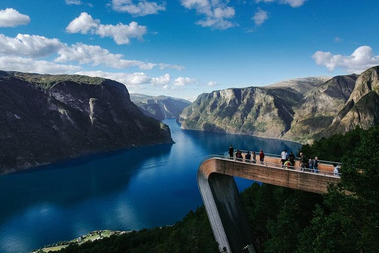 Παρατηρητήριο Stegastein στη Νορβηγία   Φωτογραφία της ημέρας