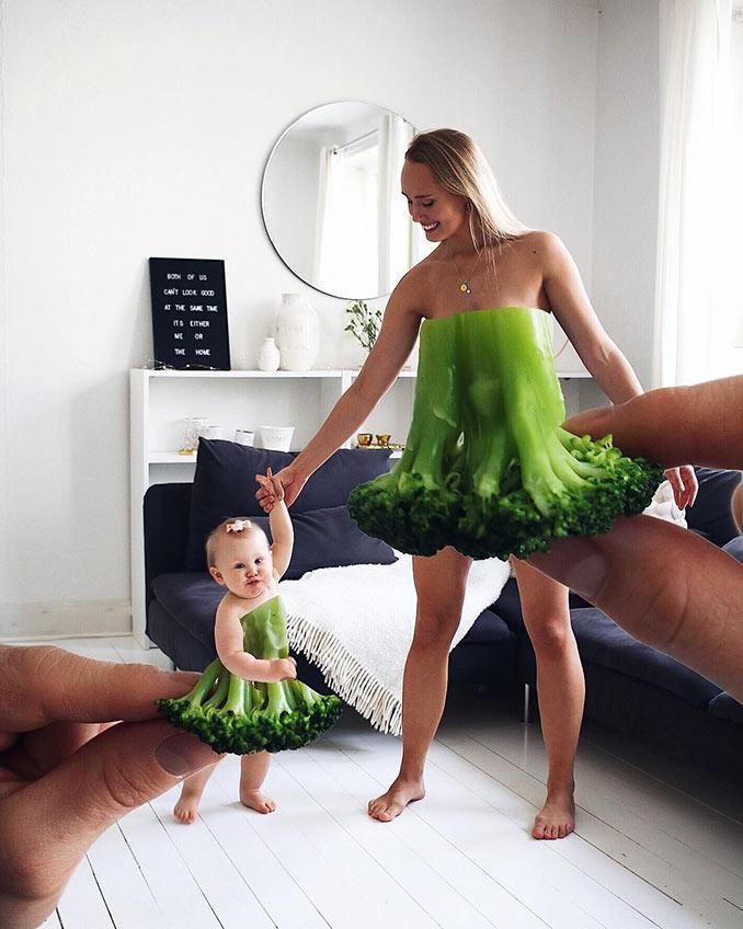 Μητέρα και κόρη με το πιο απρόσμενο φόρεμα | Φωτογραφία της ημέρας