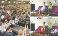 Σατιρικά σκίτσα δείχνουν όλα τα στραβά της κοινωνίας μας (21)