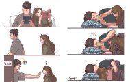 Σκίτσα με τα οποία κάθε αυτοκόλλητο ζευγάρι θα ταυτιστεί (19)