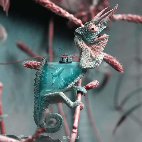 Γάλλος καλλιτέχνης δημιουργεί σουρεαλιστικές εικόνες ζώων με το Photoshop (18)