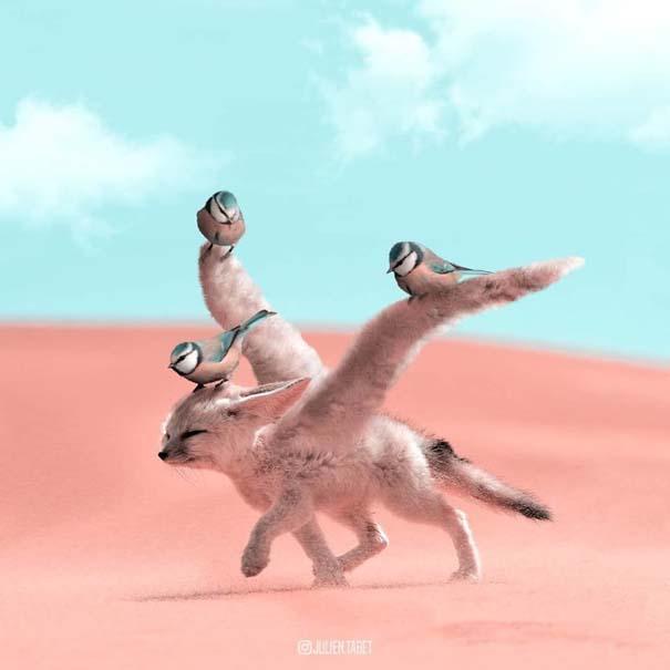 Γάλλος καλλιτέχνης δημιουργεί σουρεαλιστικές εικόνες ζώων με το Photoshop (22)