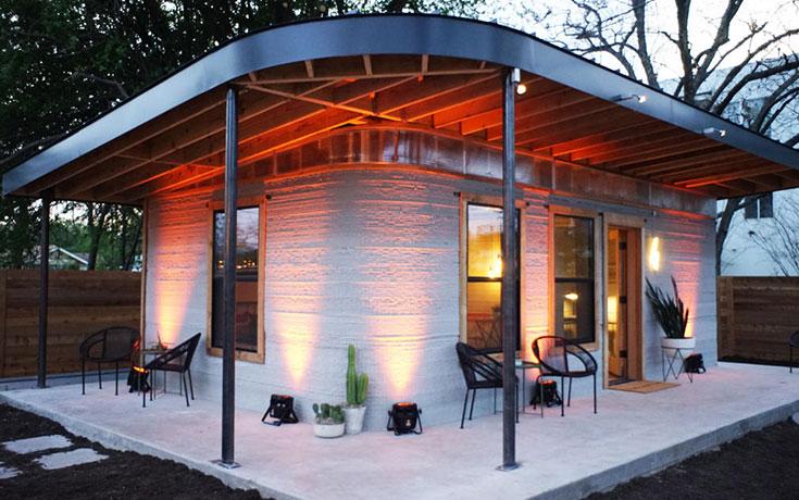 Αυτά τα σπίτια μπορούν να κατασκευαστούν μέσα σε 24 ώρες με 3D εκτύπωση και κόστος κάτω από $4.000 (1)