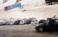 Χιονοστιβάδα στη Ρωσία καταλήγει σε parking αυτοκινήτων