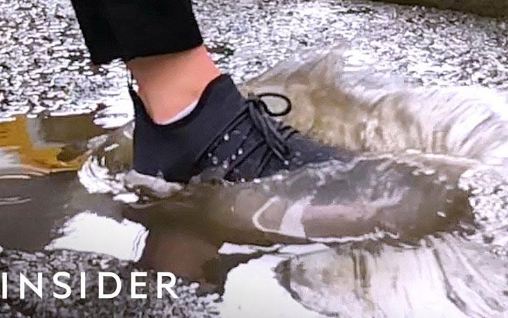 Αδιάβροχα παπούτσια