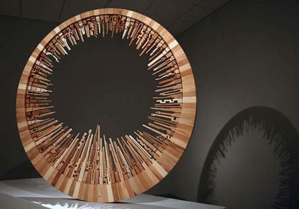 Εντυπωσιακά και περίτεχνα γλυπτά από ξύλο (11)