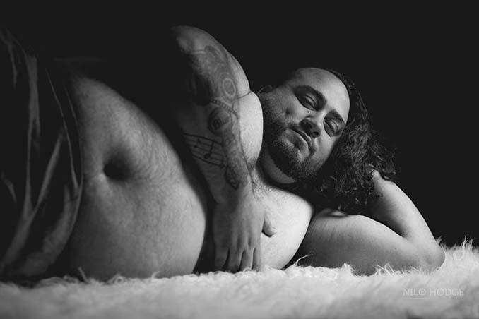 Η γυναίκα του δεν ήθελε φωτογράφιση εγκυμοσύνης, οπότε έκανε αυτός... (9)
