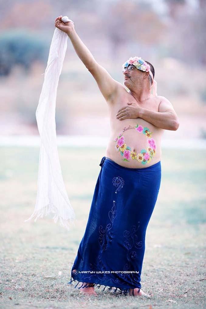 Ξεκαρδιστικές φωτογραφίες εγκυμοσύνης με μπυροκοιλιές (5)