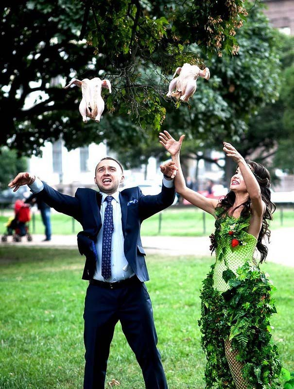 Ξεκαρδιστικές γαμήλιες φωτογραφίες από τη Ρωσία (2)
