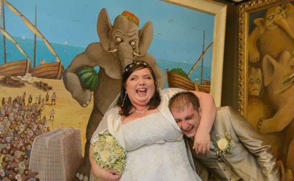 Ξεκαρδιστικές γαμήλιες φωτογραφίες από τη Ρωσία (4)