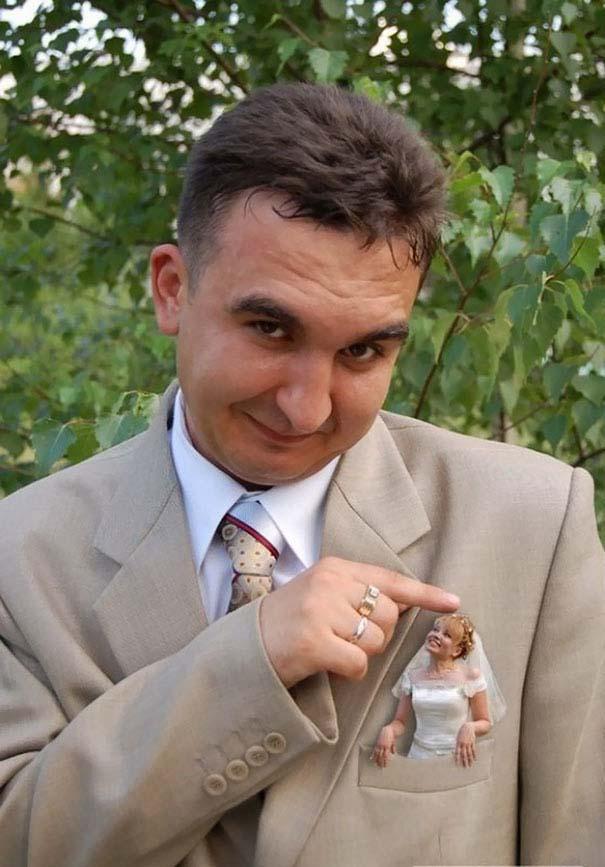 Ξεκαρδιστικές γαμήλιες φωτογραφίες από τη Ρωσία (7)