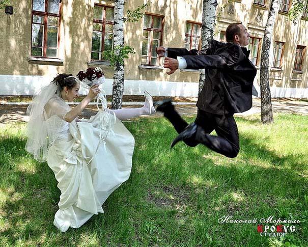 Ξεκαρδιστικές γαμήλιες φωτογραφίες από τη Ρωσία (20)