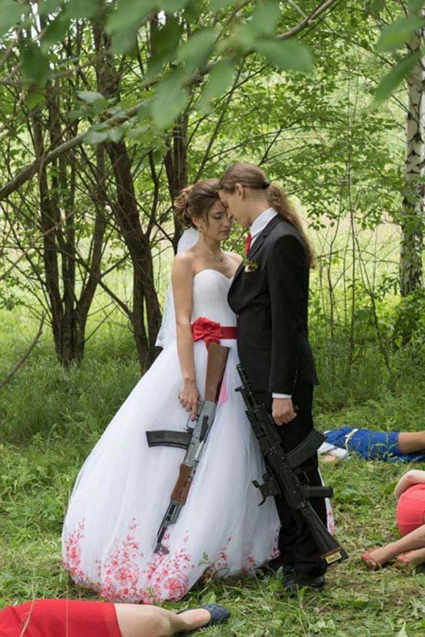 Ξεκαρδιστικές γαμήλιες φωτογραφίες από τη Ρωσία (25)